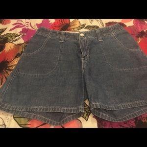 Pants - Vintage women's Levi's shorts.